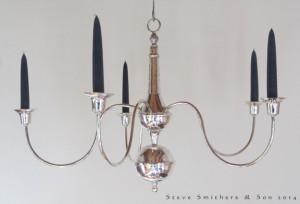Silver Chandelier blog